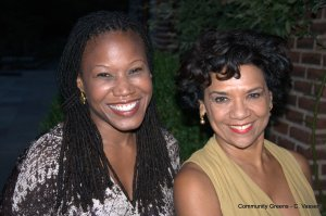 Majora Carter and Sonia Manzano