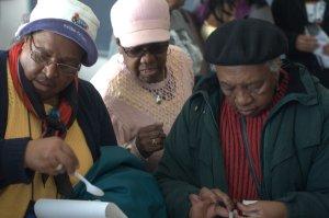 NYCHA Seniors at Workshop
