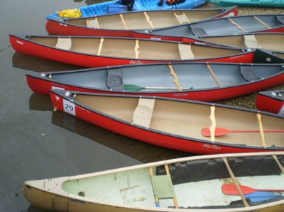 Bronx River canoes