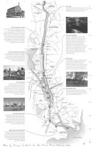 Bronx River Map courtesy Bronx River Alliance