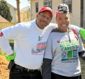 Andy King, Council Member & Alisha Freeman, New Cares