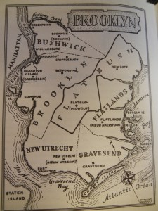 The old towns of Brooklyn