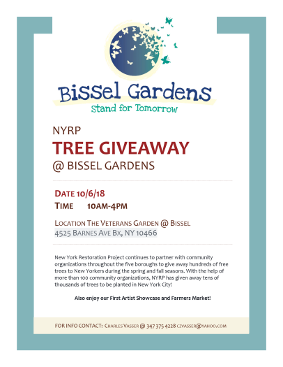 tree giveaway poster