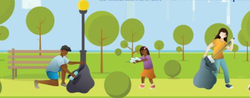 Seton Falls Park Cleanup